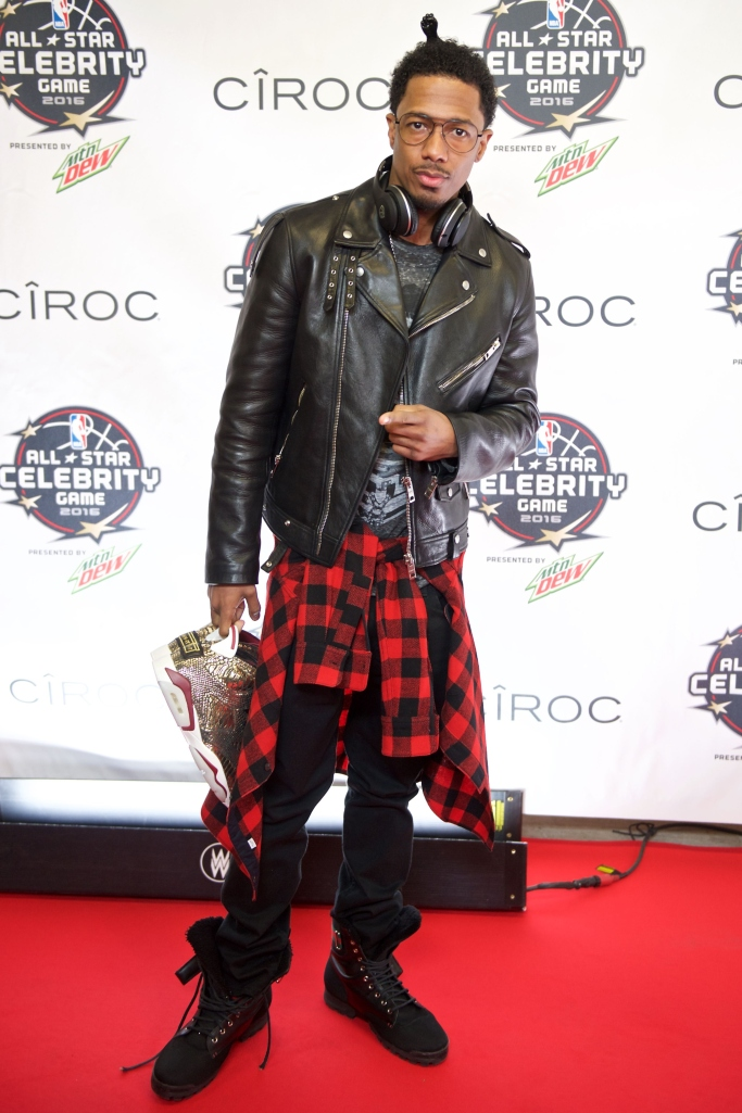 nick cannon, Jordan 6, 2016 NBA Celebrity All-Star Game