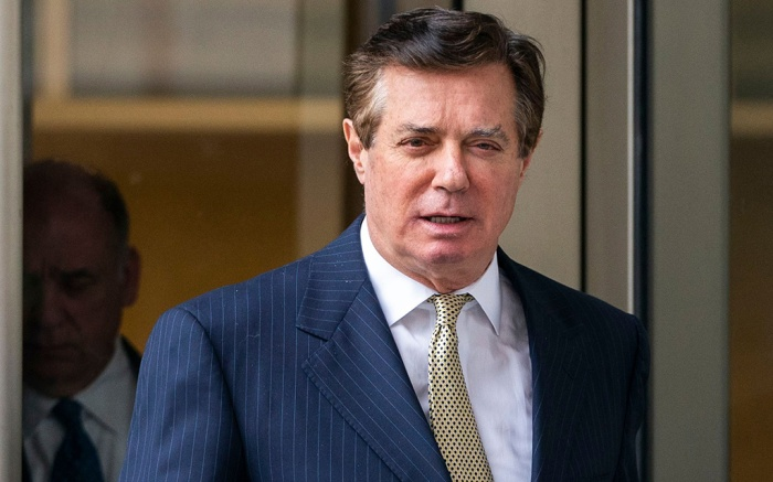 Paul ManafortEx-Trump campaign manager asks court to throw out charges, Washington, USA - 19 Apr 2018Paul Manafort, former campaign manager for US President Donald J. Trump, leaves the DC federal courthouse after asking the court to dismiss charges brought by special counsel Robert Mueller in Washington, DC, USA, 19 April 2018. Attorneys for Manafort argued that Mueller exceeded his authority in pursuing the felony charges against Manafort.