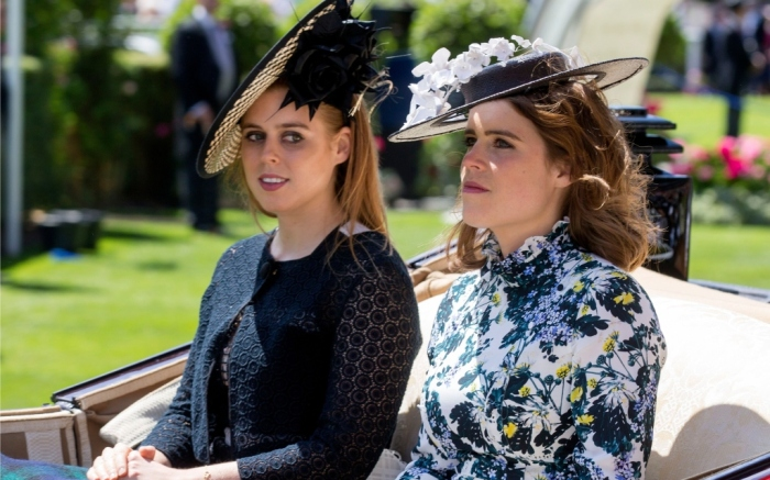 princess beatrice, princess eugenie, royal ascot