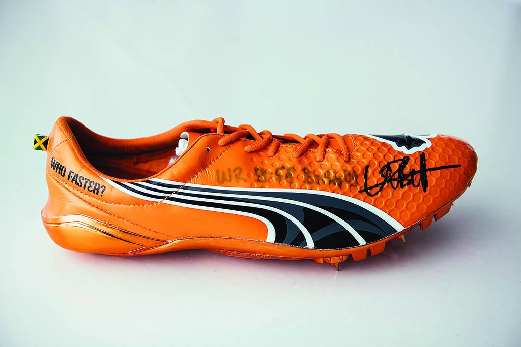 Usain Bolt World Record Shoe