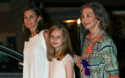 Queen Letizia of Spain Looks Nautical