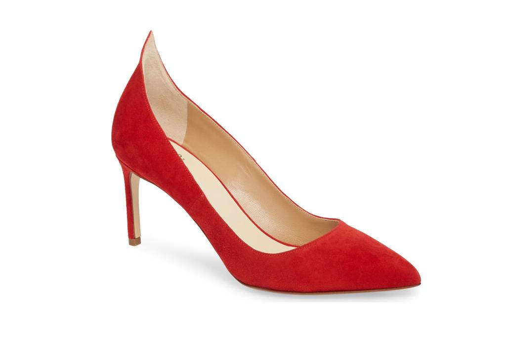 Red Flame Heels