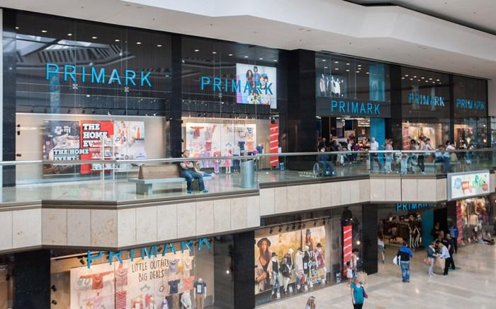 Primark High Street Shops, Westgate Arcade, Queensgate, Peterborough, Britain - 06 Jan 2016