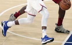 Frank Ntilikina and LeBron JamesCleveland Cavaliers