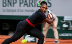 Serena Williams (USA) in actionFrench Open