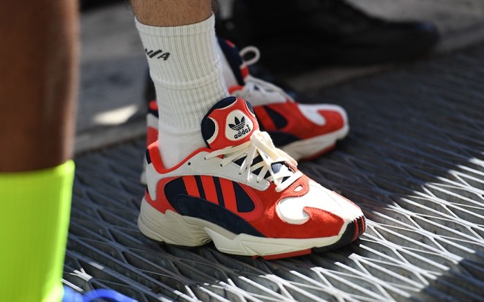 Adidas sneakers spotted during New York Fashion Week Men's spring '19