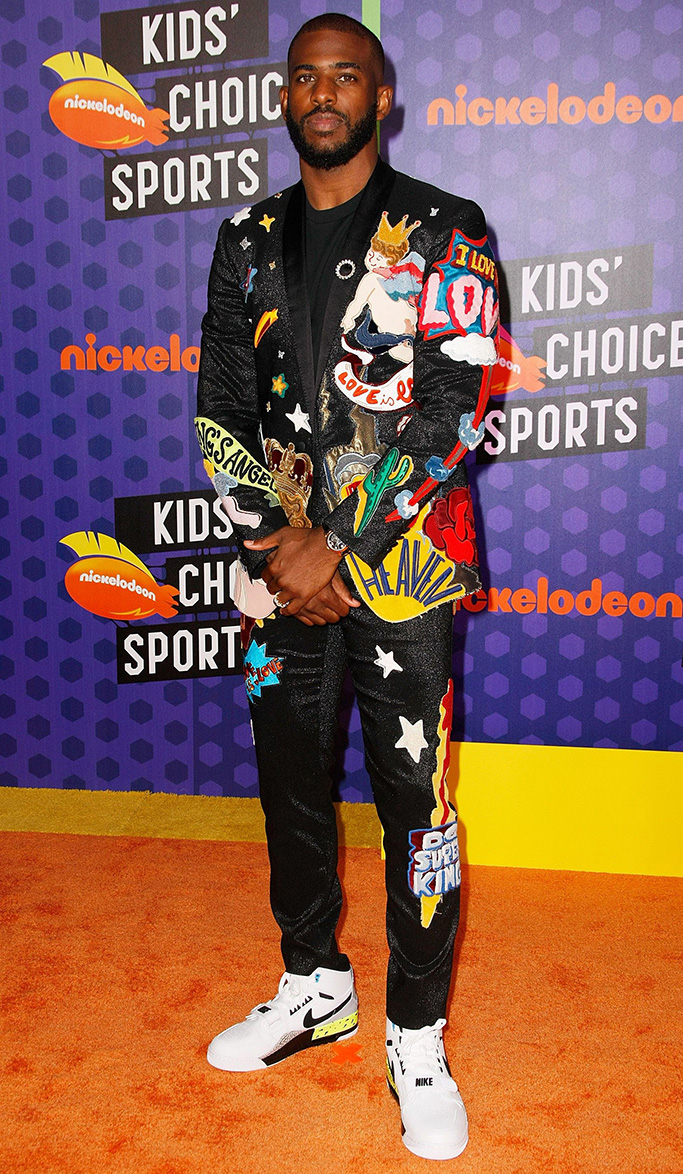 Chris PaulKids' Choice Sports Awards, Arrivals, Los Angeles, USA - 19 Jul 2018WEARING DOLCE & GABBANA