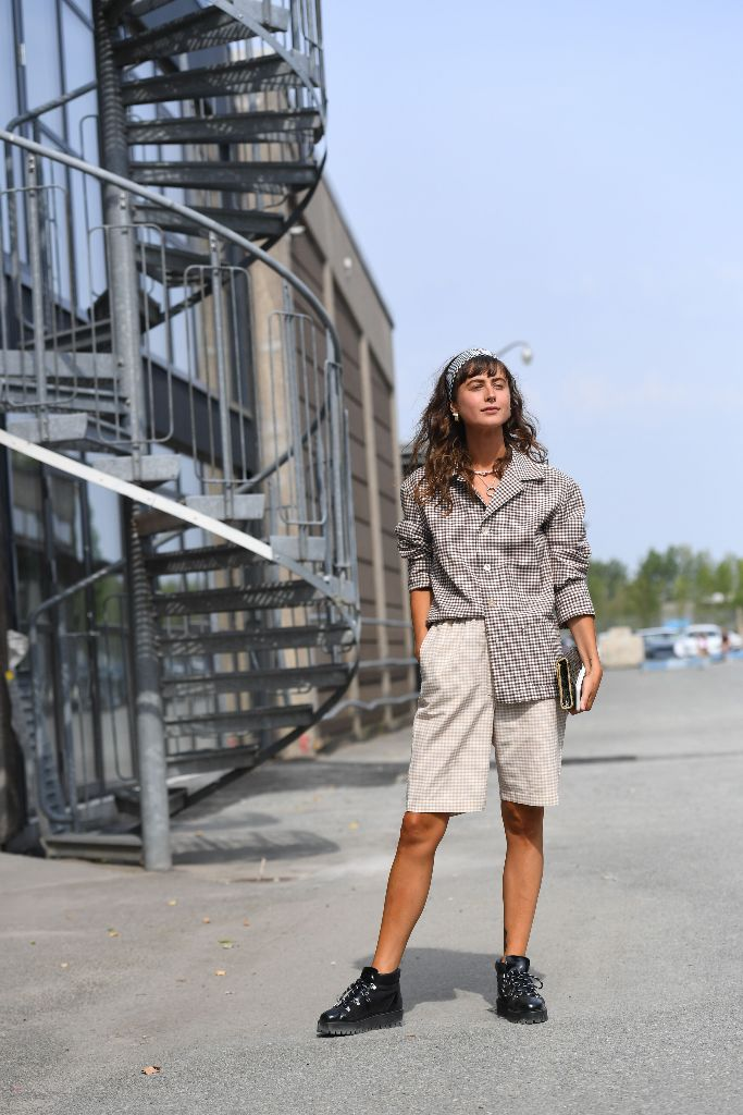 copenhagen fashion week street style combat boot trend fall 2018