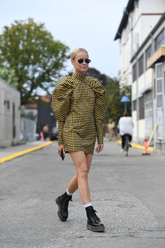 street style copenhagen fashion week combat boot trend fall 2018