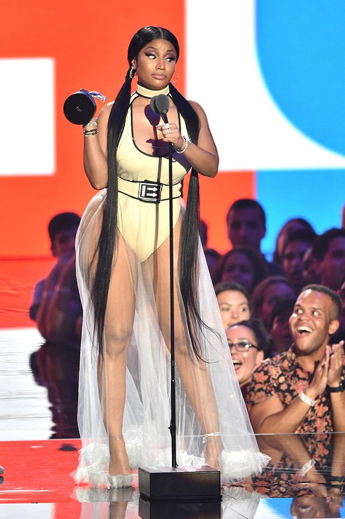 Nicki MinajMTV Video Music Awards, Show, New York, USA - 20 Aug 2018