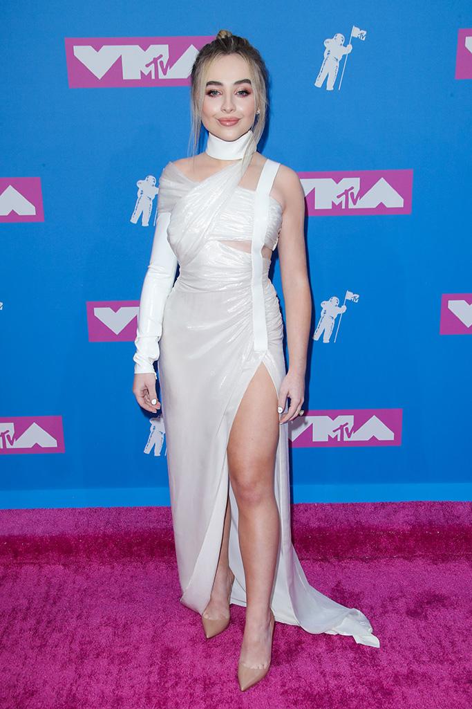 Sabrina Carpenter MTV Video Music Awards, Arrivals, New York, USA - 20 Aug 2018