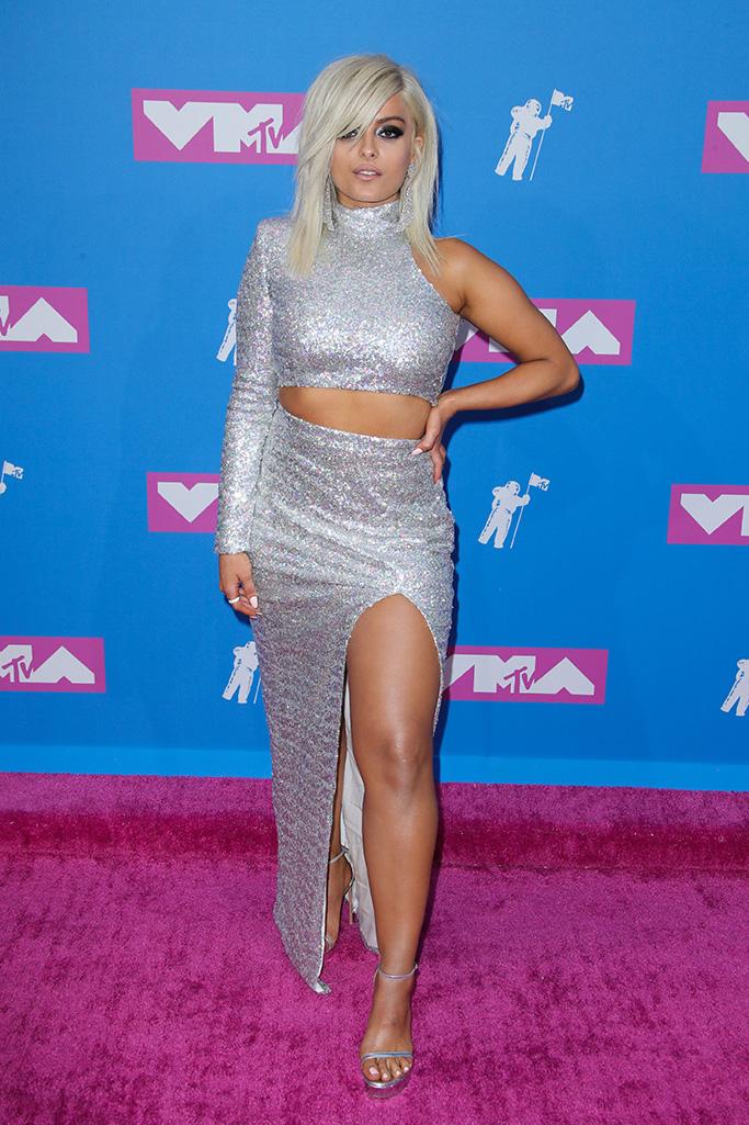 Bebe Rexha MTV Video Music Awards, Arrivals, New York, USA - 20 Aug 2018