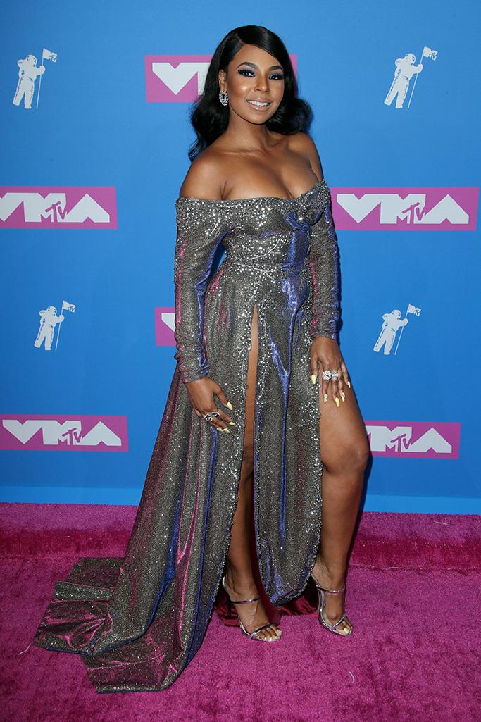 Ashanti MTV Video Music Awards, Arrivals, New York, USA - 20 Aug 2018