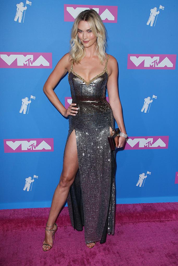 Karlie Kloss MTV Video Music Awards, Arrivals, New York, USA - 20 Aug 2018