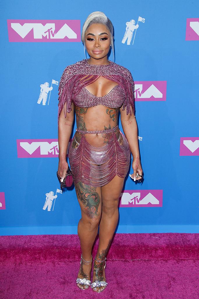 Blac Chyna, MTV Video Music Awards, Arrivals, New York, USA - 20 Aug 2018