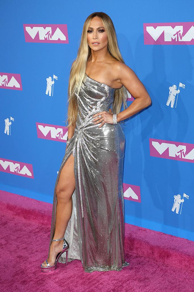 Jennifer Lopez MTV Video Music Awards, Arrivals, New York, USA - 20 Aug 2018