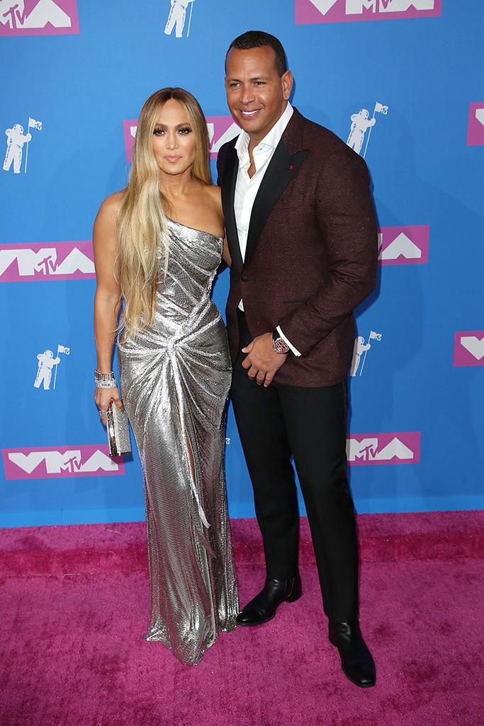 Jennifer Lopez and Alex RodriguezMTV Video Music Awards, Arrivals, New York, USA - 20 Aug 2018
