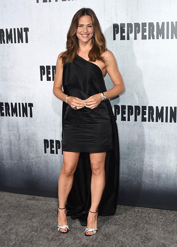 "Jennifer Garner arrives at the Los Angeles premiere of ""Peppermint"" on in Los AngelesLA Premiere of ""Peppermint"", Los Angeles, USA - 28 Aug 2018"