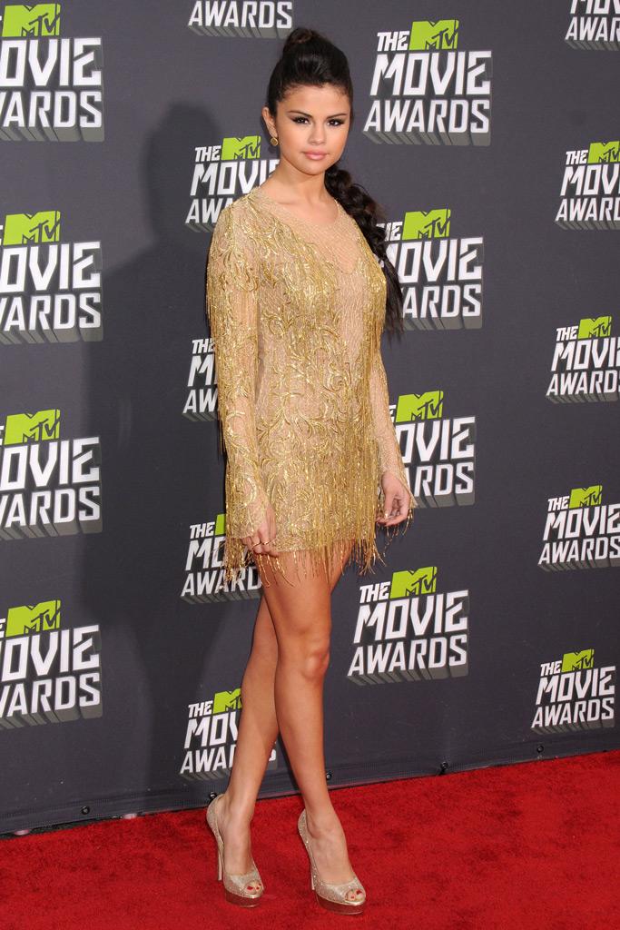 selena gomez, mtv movie awards, red carpet, fashion
