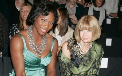 Serena Williams and Anna Wintour NYFW