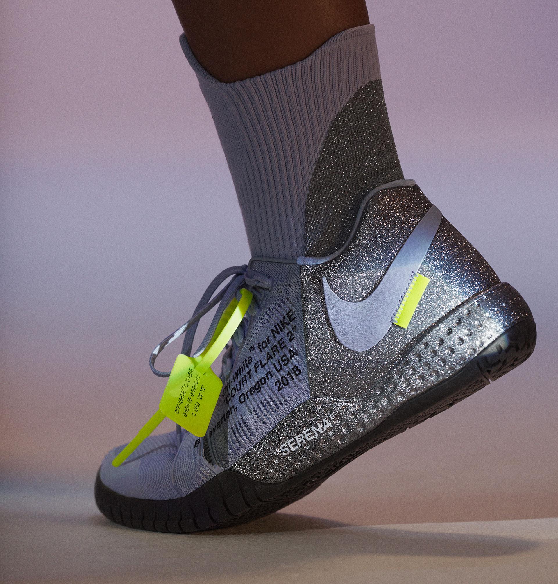 Serena Williams' NikeCourt Flare 2 PE
