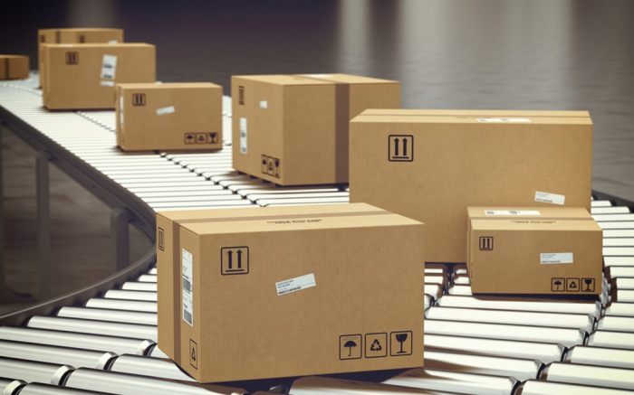 shipping packages parcels