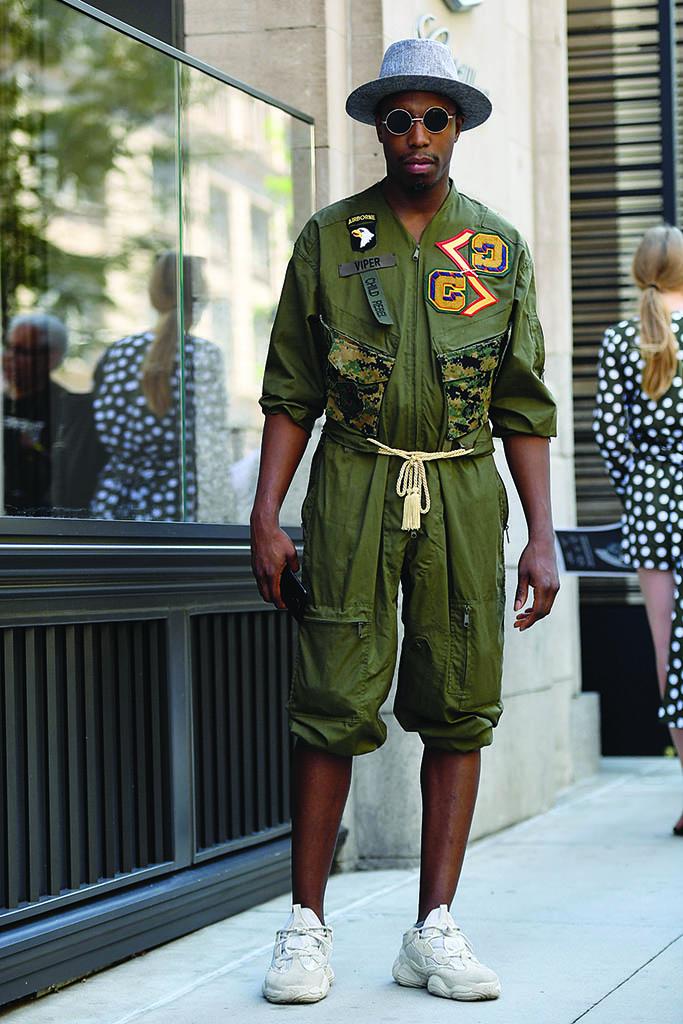 Adidas Yeezy 500 NY Men Fashion Week Street Style
