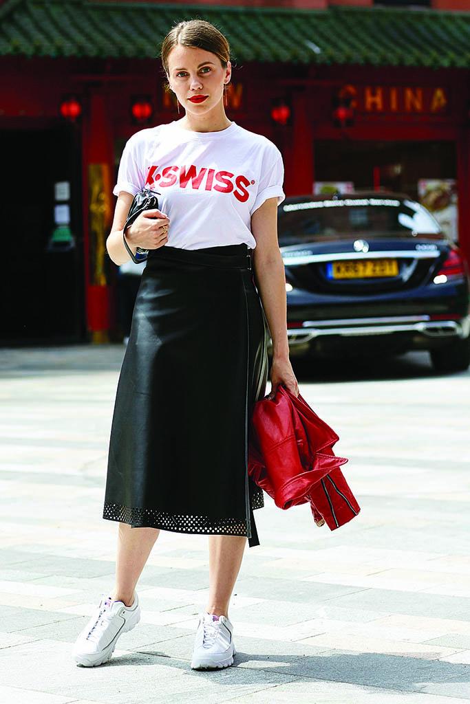 K-Swiss Street Style London Men Fashion Week