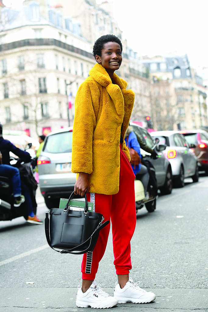 Fila Street Style Paris Fashion Week