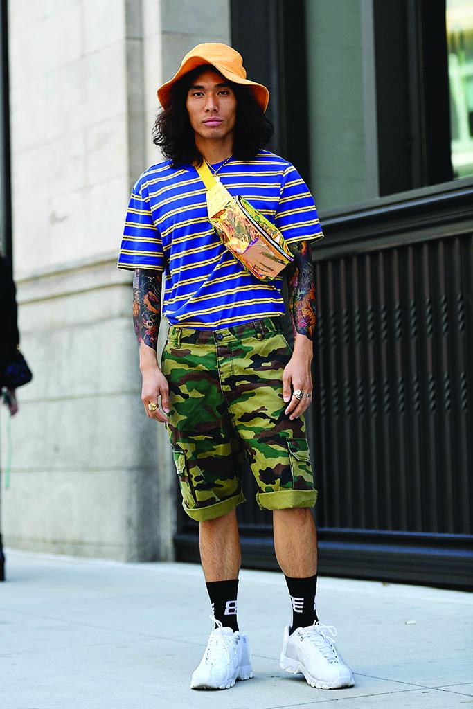 K-Swiss NY Men Fashion Week Street Style