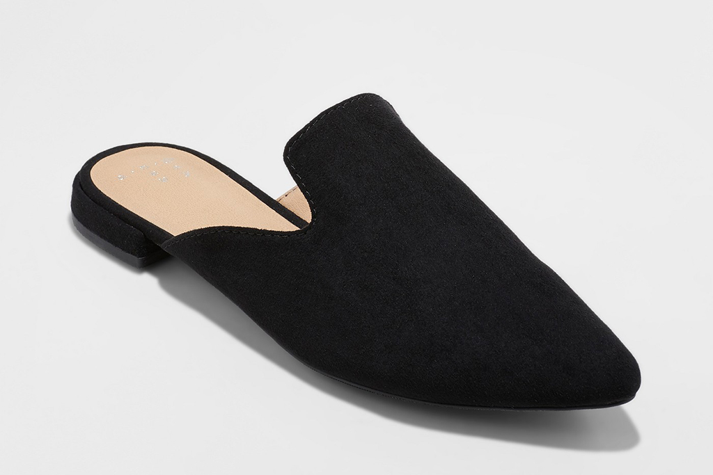 A New Day Women's Velma Slip On Pointy Toe Mules