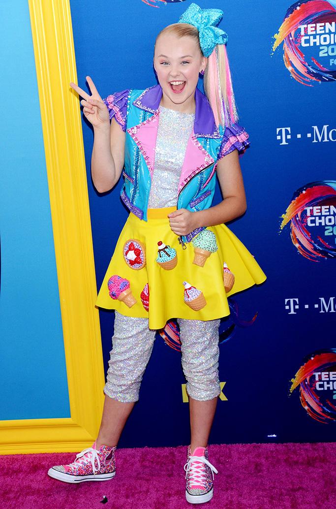 Joelle Joanie Siwa Teen Choice Awards, Arrivals, Los Angeles, USA - 12 Aug 20182018 Teen Choice Awards