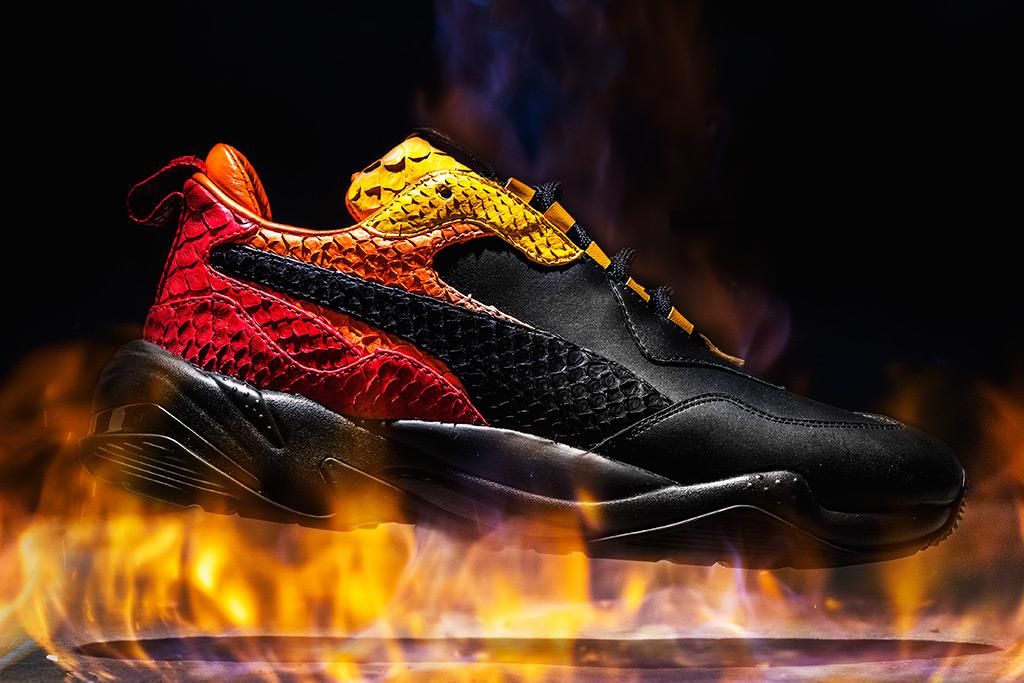 The Shoe Surgeon Puma Thunder Desert Fire