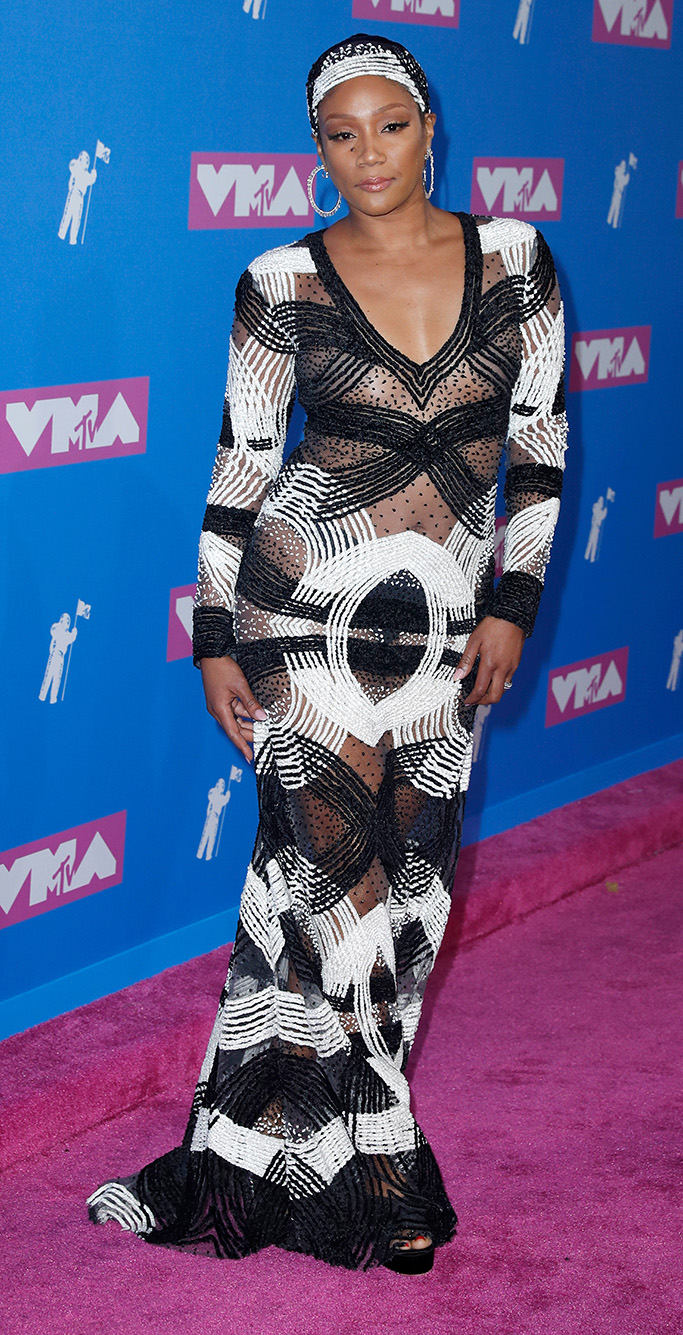 US comedian Tiffany Hadish arrives on the red carpet for the 2018 MTV Video Music Awards at Radio City Music Hall in New York, New York, USA, 20 August 2018.2018 MTV Video Music Awards, New York, USA - 20 Aug 2018