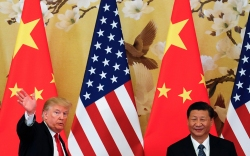 President Donald Trump and Chinese President
