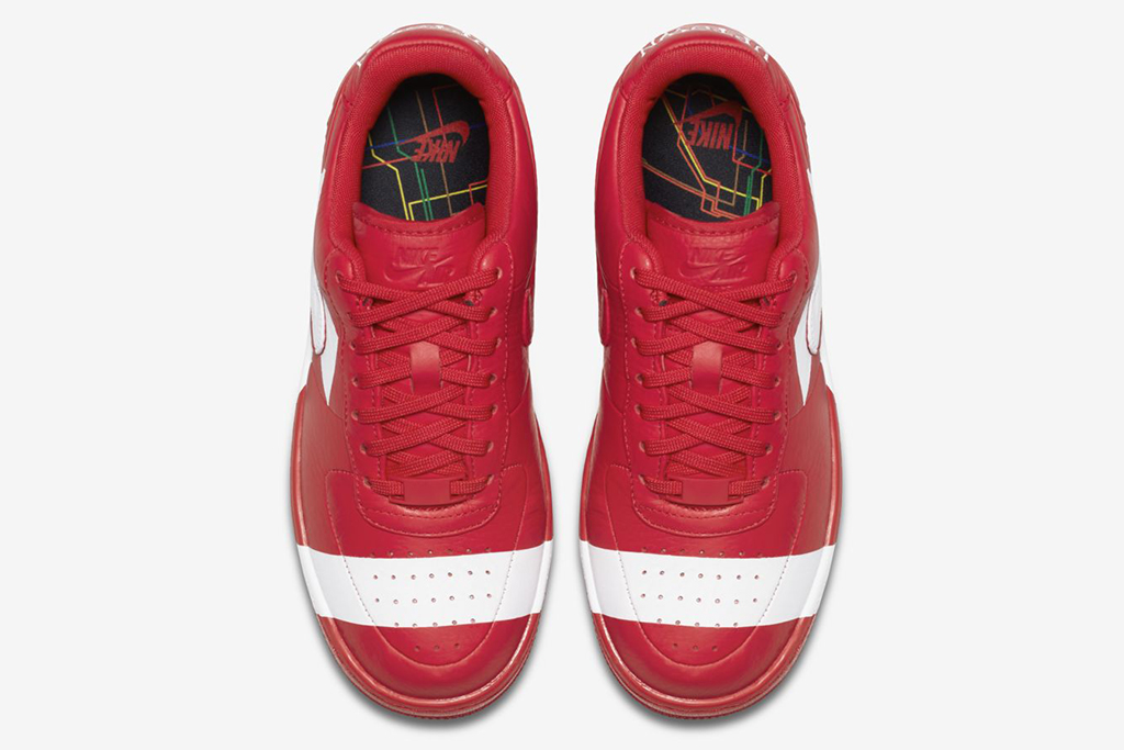 Nike Air Force 1 Uptown Red