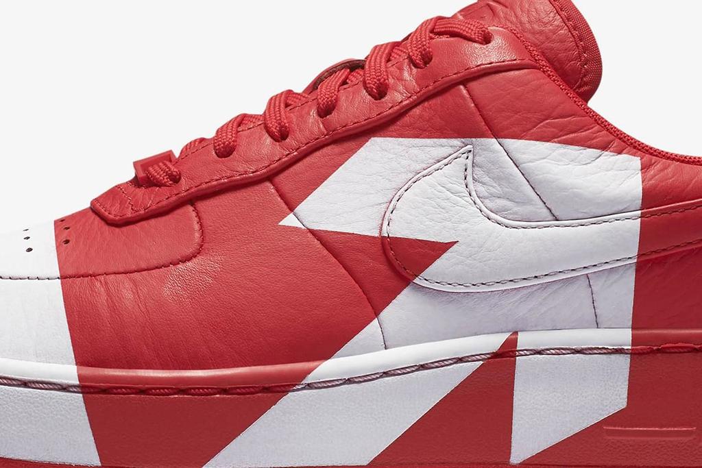 """Nike Air Force 1 Uptsep """"Uptown"""" In Red"""