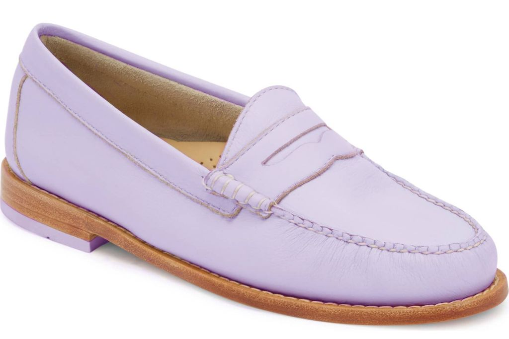 lilac shoes gh bass and co