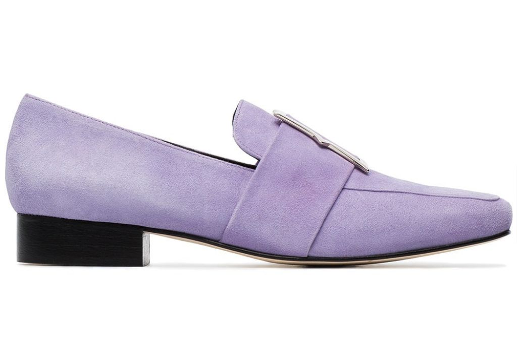 dorateymur lilac loafers