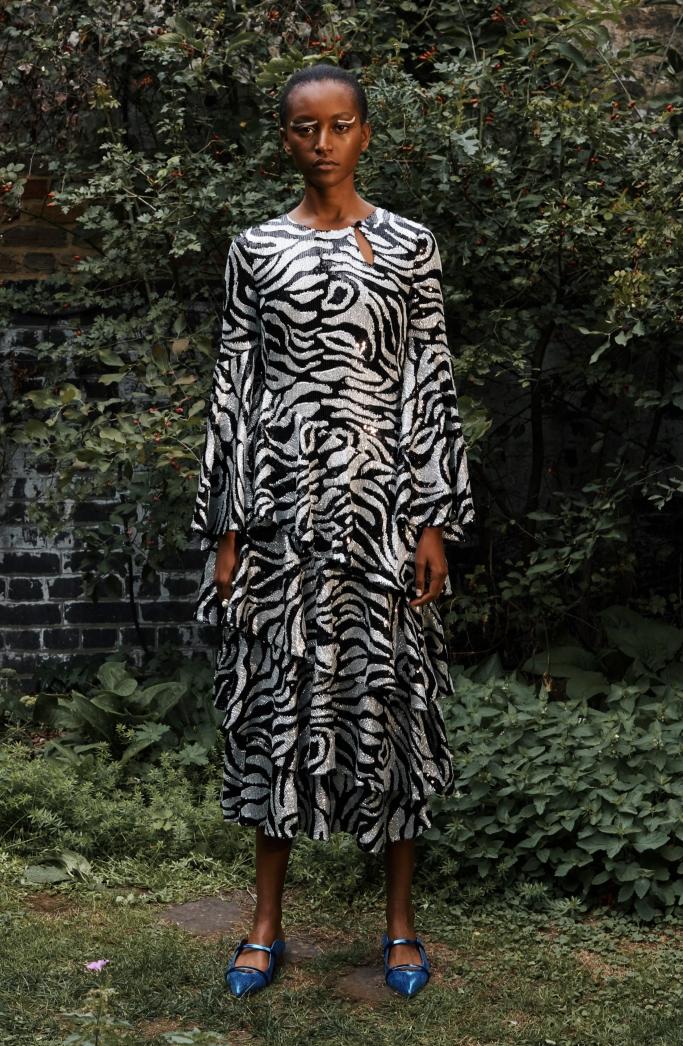 osman spring 2019, london fashion week