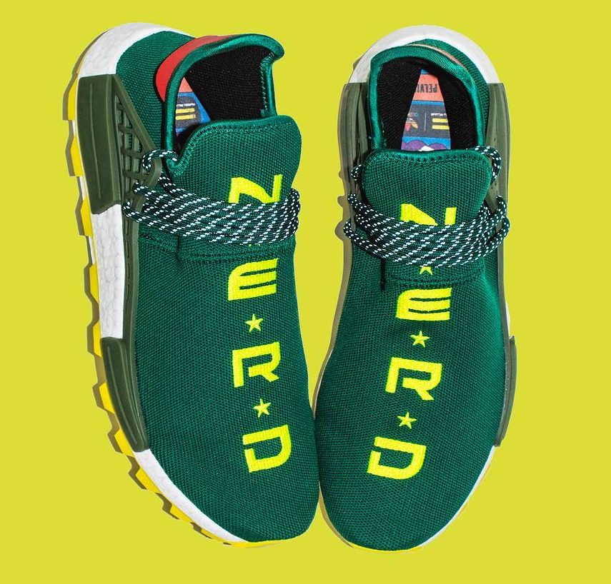 This Pharrell and Adidas NMD Sneaker Is