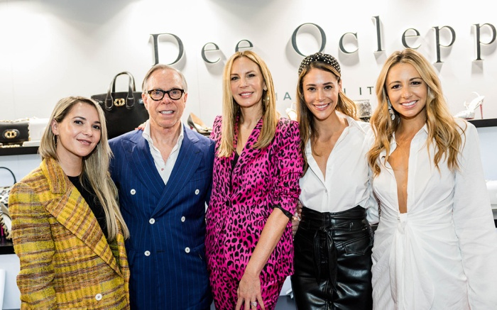 Christie Ferrari, Tommy Hilfiger, Dee Hilfiger, Lindsi Lane Watts and Marni Harvey