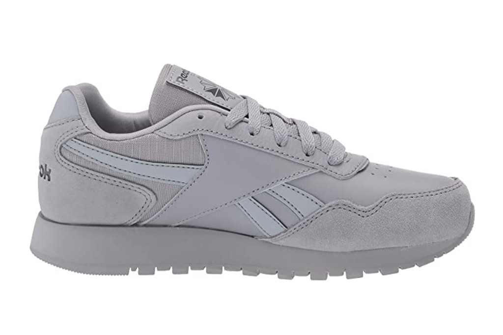 reebok mens sneakers, grey reebok sneakers, labor day sneaker sale