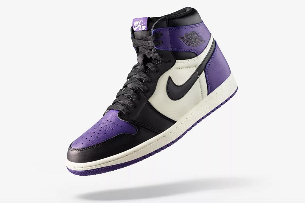 Air Jordan 1 Court Purple