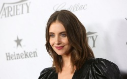 Alison Brie, variety pre-emmys party, red