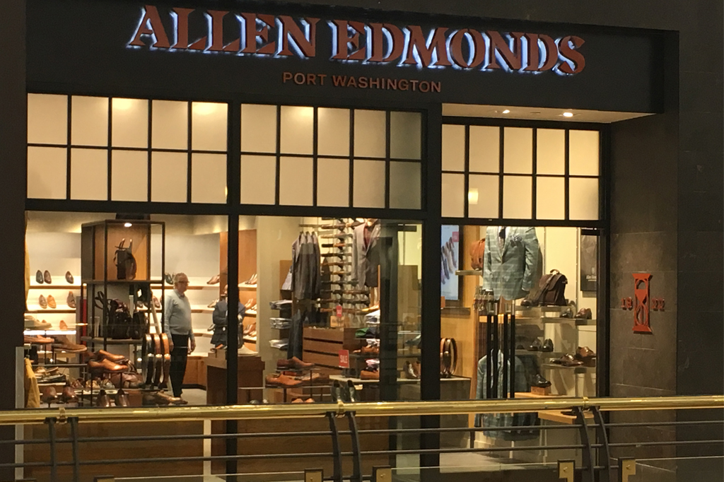 Allen Edmonds Store Raleigh