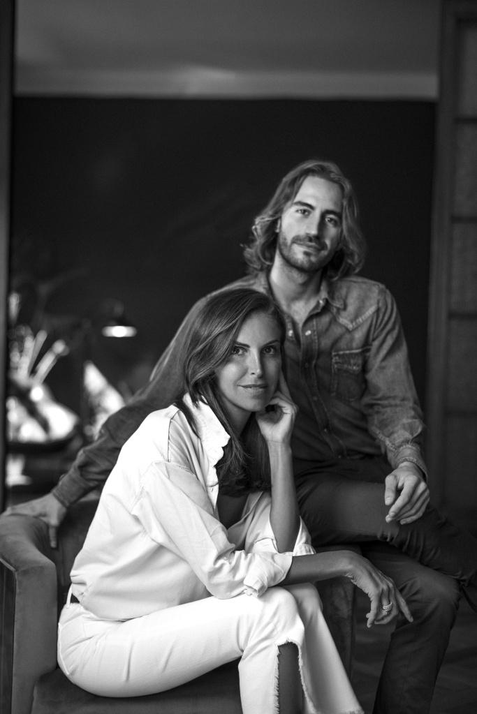 L'Autre Chose ceo Alice Carli with newly appointed creative director Nicolò Beretta.