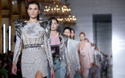 Balmain, spring 2019, runway, paris fashion