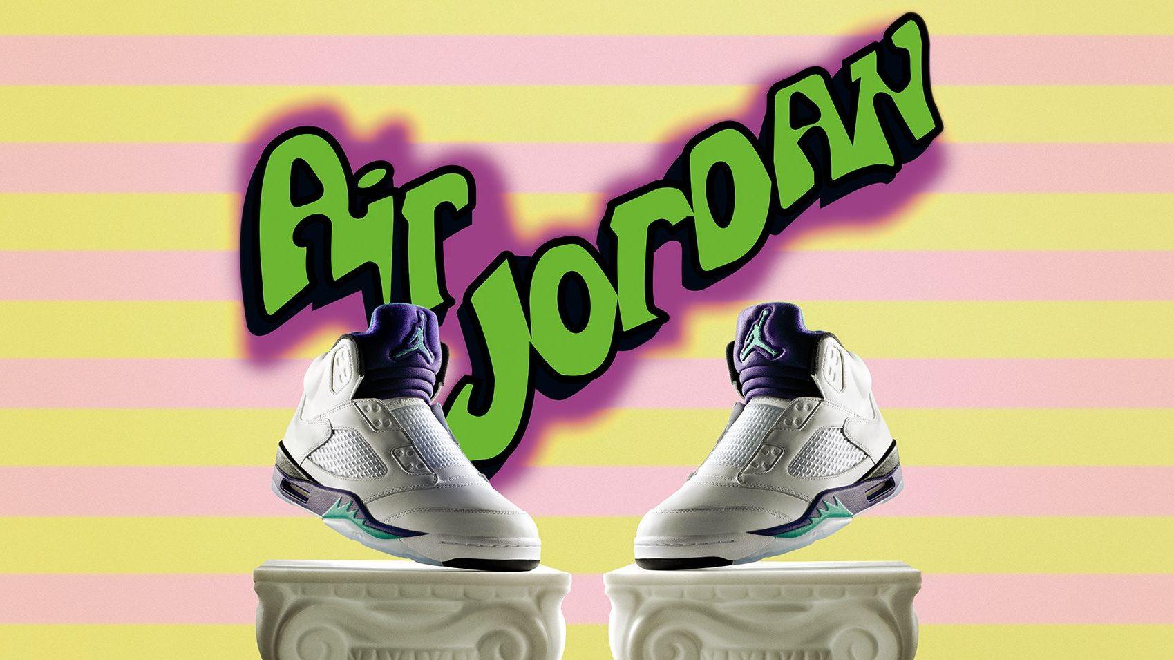 fresh prince jordan 5