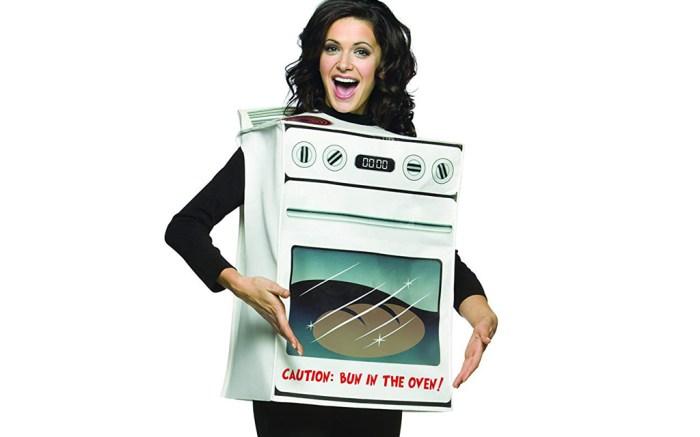 bun in the oven maternity costume